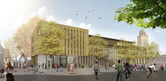 Bibliotheek Deventer Impressie Rondeel