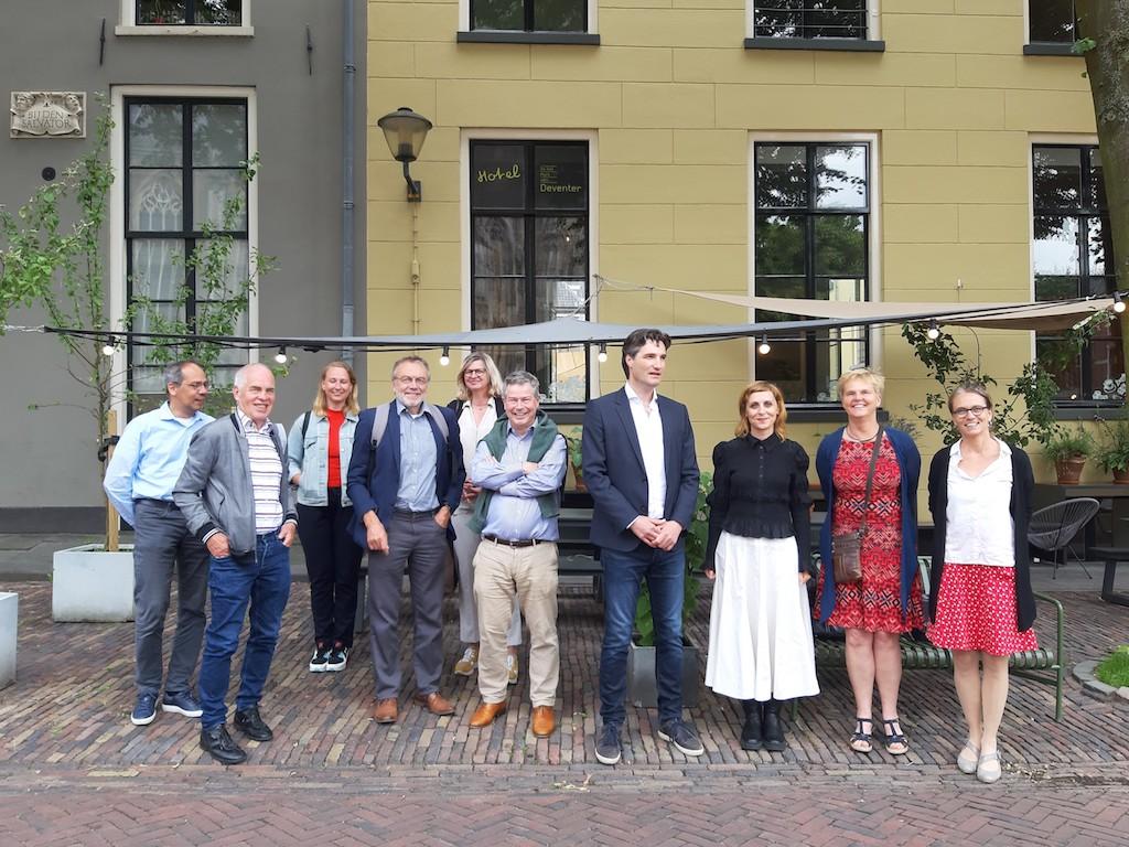 Deelnemers bijeenkomst 24-06-2021 Albaniëproject