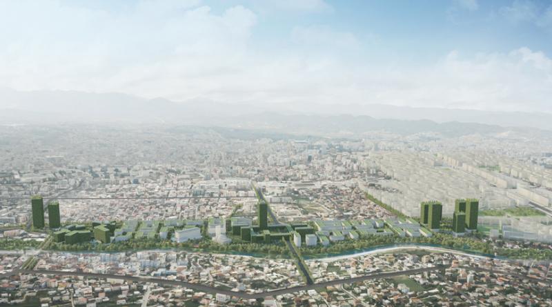 Riverside Tirana Albanië - Foto Stefano Boeri Architetti